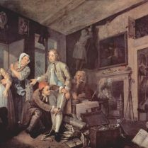 William_Hogarth the young heir